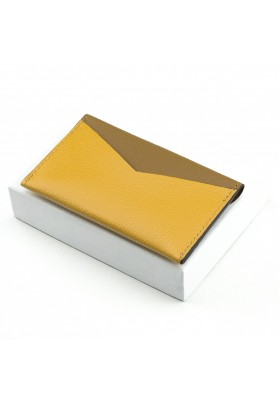 Porte-cartes Enveloppe Gold/Safran