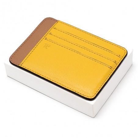 Porte-cartes Galant - Safran/Gold