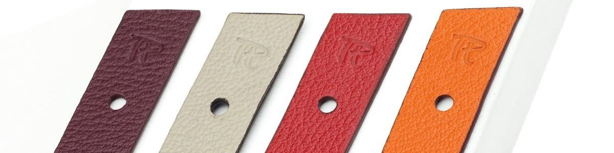 Bracelet cuir et soie, association de savoir-faire français